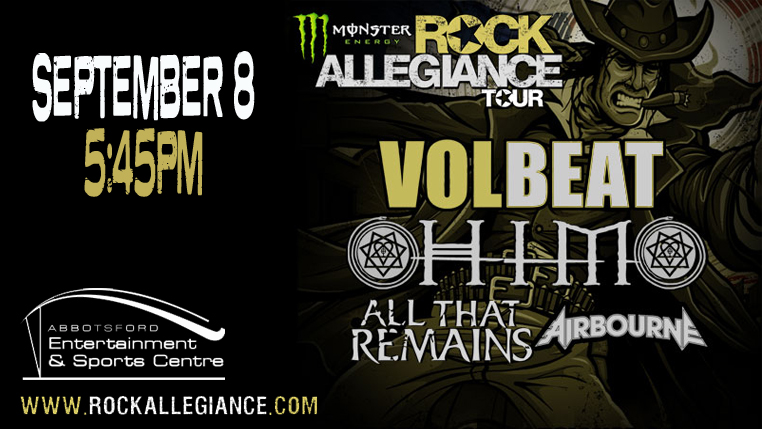 Monster Energy's Rock Allegiance Tour