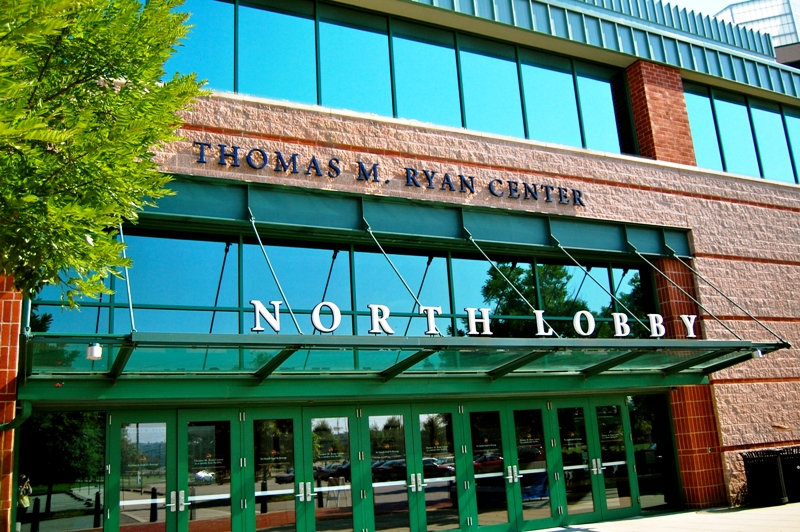 The Ryan Center - North View