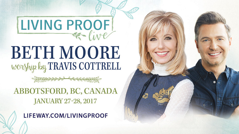 Living Proof Live:  Beth Moore worship by Travis Cottrell