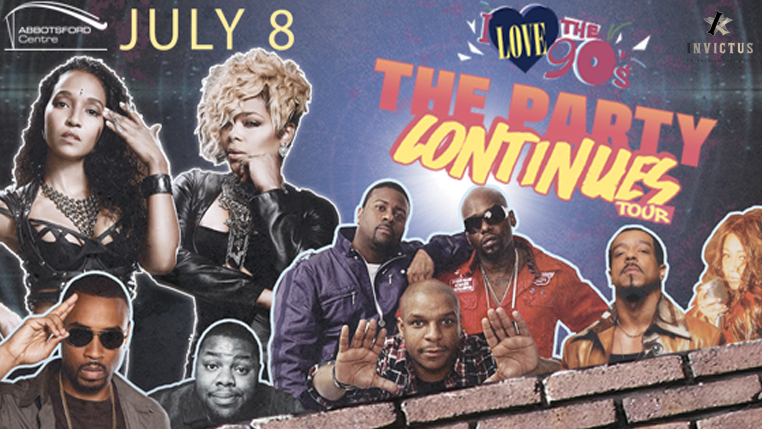 I Love the 90's – The Party Continues Tour