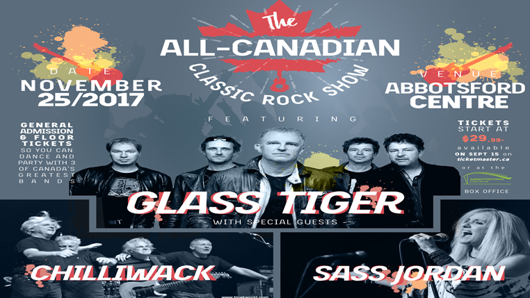 Abbyfest 2017:  The All Canadian Classic Rock Show