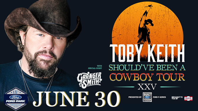 Toby Keith Should've Been a Cowboy XXV Tour