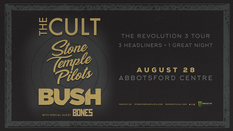 The Cult, Stone Temple Pilots, Bush