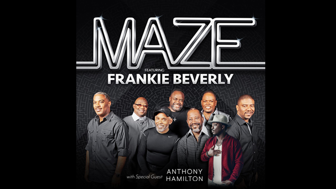 Maze Featuring Frankie Beverly And Special Guest Anthony Hamilton