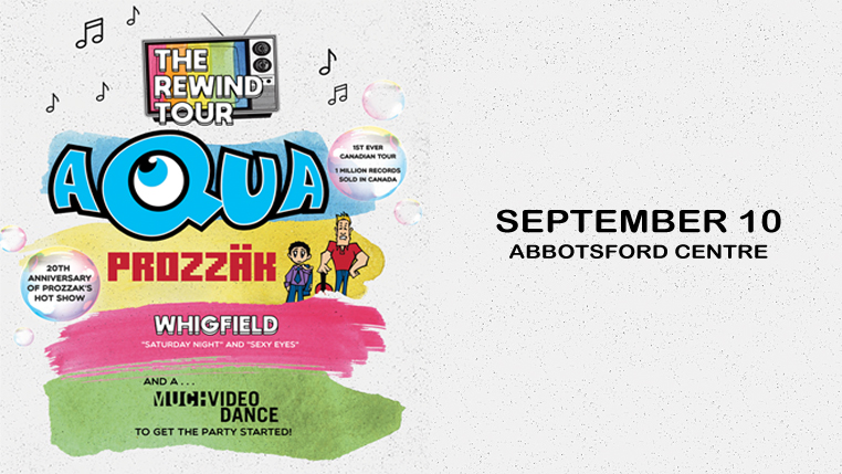The Rewind Tour feat Aqua, Prozzäk, Whigfield